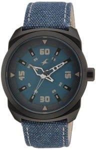 Fastrack OTS Explorer Analog Blue Dial Men's Watch