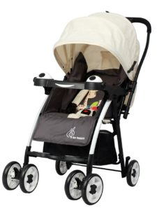 R for Rabbit Poppins - An Ideal Pram - Baby Stroller for Moms (Cream Brown)