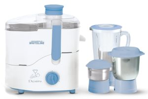 Maharaja Whiteline JX-210 550 W Juicer Mixer Grinder (3 Jars)