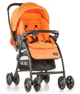 Luvlap Grand Baby Stroller (Orange)