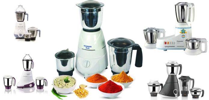 Top 5 best mixer grinder under 2000 Rs. in India