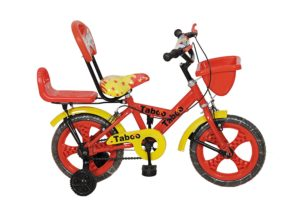 Taboo TCD-14 Red & Yellow Kid's Cycle