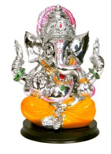 Ripe India Silver Lord Ganesha