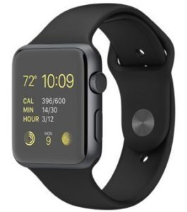 Estar A1 Black Bluetooth Smart Watch
