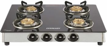Eveready GS TGC4B 4 Burner Gas Stove