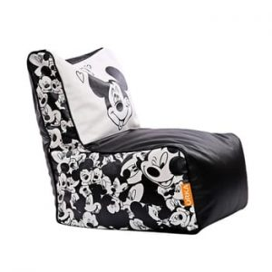 Orka Mickey Mouse Digital Printed Chair with Beans