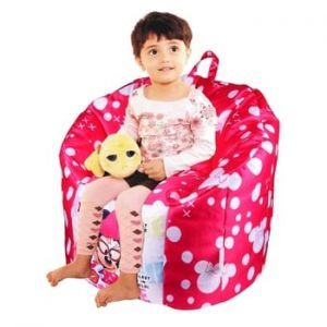Orka Minnie Digital Mouse Printed Kid's Bean Bag