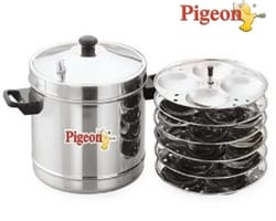 Pigeon Stainless Steel 6-Plates Idly Maker