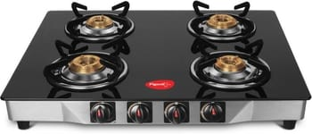 Pigeon Ultra Glass 4 Burner Manual Gas Stove