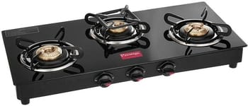 Prestige Marvel Glass 3 Burner Gas Stove