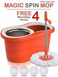 Hugo Mop Bucket Magic Spin