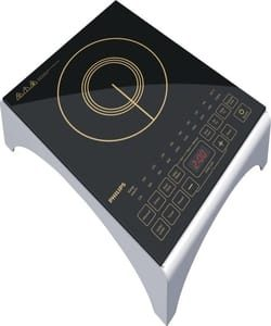 Philips HD4938/01 2100-Watt Induction Cooktop