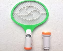RAREERAM Rechargeable Mosquito killer Racket Bat