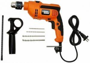 Black & Decker 550-Watt Reversible Hammer best Drill Machine