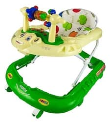 Goyal's Monkey Baby Walker - Music & Light Function With Adjustable Height