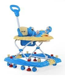 LuvLap Comfy Baby Walker with Rocker