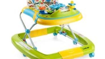 LuvLap Grand Baby Walker with Adjustable Height & Rocker