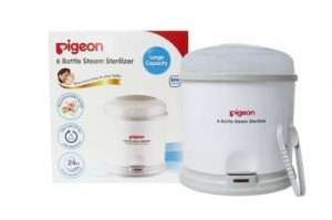 Pigeon 6 Bottle Steam Sterilizer