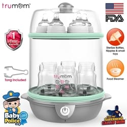 Trumom Electric Steam Sterilizer for 6 Feeding