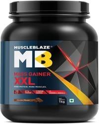 MuscleBlaze Mass Gainer XXL- 1kg