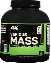 Optimum Nutrition Serious Mass Gainers- 2.72kg