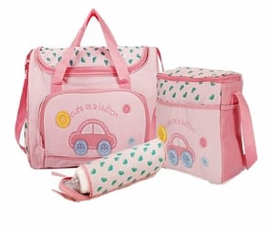Baby Bucket 4 pcs. Set Baby Diaper Bag