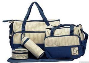 Baby Bucket 5 pcs. Set Baby Diaper Bag