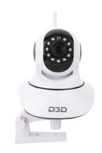 D3D Wireless Indoor CCTV Security Camera