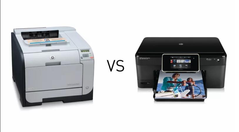 Laser vs. inkjet printers