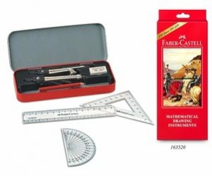 Faber Castell Mathematical Drawing Instrument Box