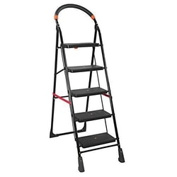 PAffy Milano5-MF High Tensile Steel 5-Steps Folding Ladder