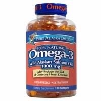 Pure Alaska Omega-3 Salmon Oil
