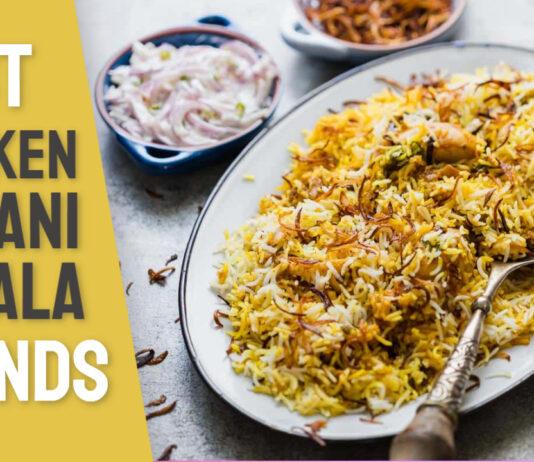 best chicken Biryani masala brand