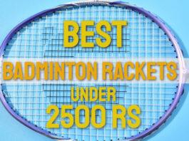 Best Badminton Racket Under 2500