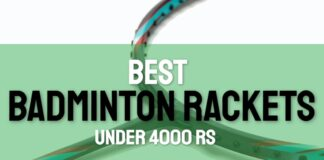 best badminton rackets under 4000