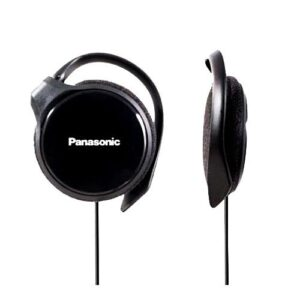 Panasonic RP-HS46-K SLIMZ Ear-Clip Headphones with Ultra-Slim Housing
