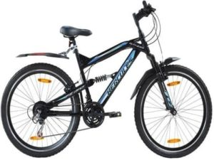 Hercules Topgear TZ150 Dual Suspension 18 Speed Bicycle