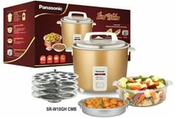Panasonic SRWA18GHCMB 1.8-Liters 660 W Rice Cooker and Steamer