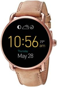 Fossil Q FTW2102 Wander Digital Multi-Colour Dial Women's Watch